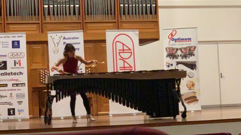 石川千華 The Australian Marimba Competition