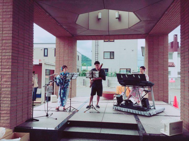 2019年7月20日 林亜紗美 病院施設の夏祭りLIVE