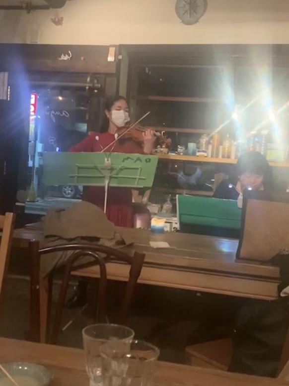2020年12月4日 バイオリン&ピアノLIVE in aguri